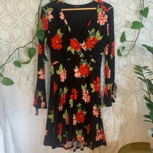 Women's floral printed dress